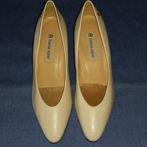 Etienne Aigner Priscilla Leather Pumps